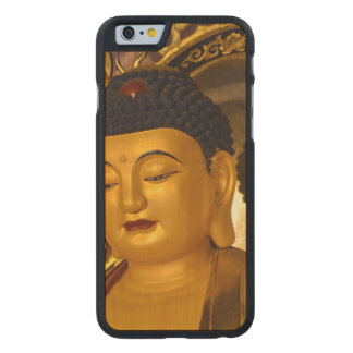 Asia Golden Buddha Carved® Maple iPhone 6 Slim Case