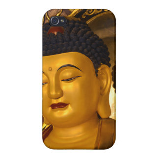 Asia Golden Buddha Cover For iPhone 4