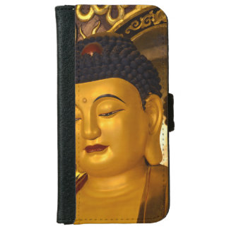 Asia Golden Buddha iPhone 6 Wallet Case
