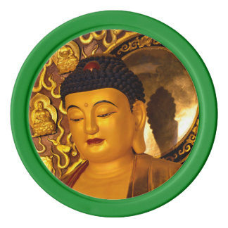 Asia Golden Buddha Poker Chips
