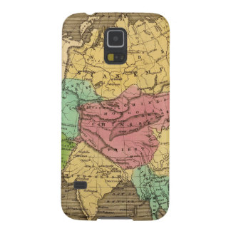 Asia Hand Colored Atlas Map 2 Galaxy S5 Case