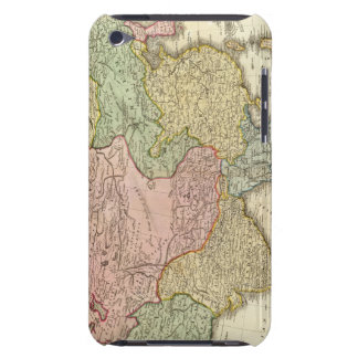 Asia Hand Colored Map iPod Touch Covers