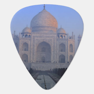 Asia; India; Agra. Taj Mahal. Guitar Pick