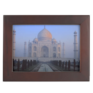 Asia; India; Agra. Taj Mahal. Keepsake Box