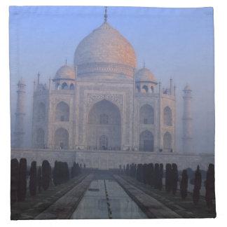 Asia; India; Agra. Taj Mahal. Napkin