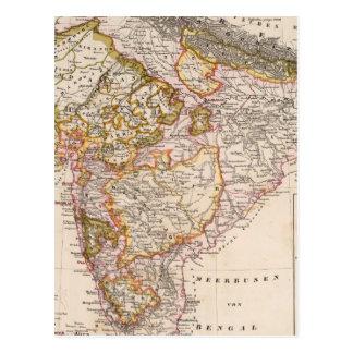 Asia, India, Bangladesh Postcard