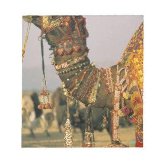 Asia, India, Pushkar. Camel Shamu , Pushkar Notepad