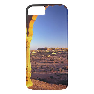 Asia, India, Rajasthan, Jaisalmer. The view from iPhone 8/7 Case