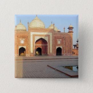Asia, India, Uttar Pradesh, Agra. On the 15 Cm Square Badge