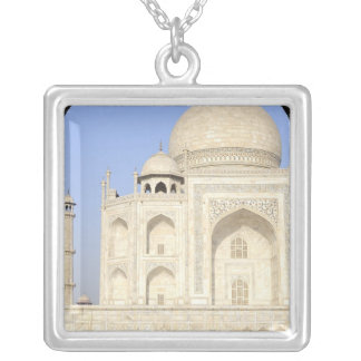 Asia, India, Uttar Pradesh, Agra. The Taj 2 Silver Plated Necklace
