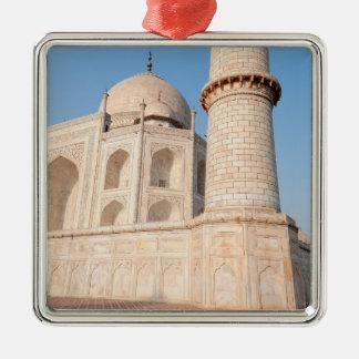 Asia, India, Uttar Pradesh, Agra. The Taj 4 Christmas Ornament