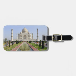 Asia, India, Uttar Pradesh, Agra. The Taj 5 Luggage Tag