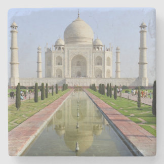 Asia, India, Uttar Pradesh, Agra. The Taj 5 Stone Coaster