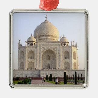 Asia, India, Uttar Pradesh, Agra. The Taj 8 Christmas Ornament