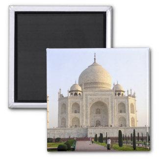 Asia, India, Uttar Pradesh, Agra. The Taj 8 Square Magnet