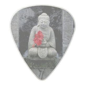 Asia, Indonesia, Bali. A shrine of Buddha Acetal Guitar Pick