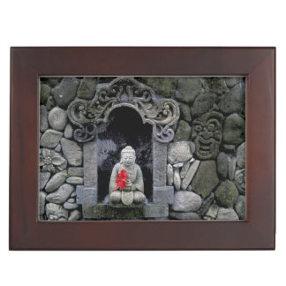 Asia, Indonesia, Bali. A shrine of Buddha Keepsake Box