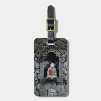 Asia, Indonesia, Bali. A shrine of Buddha Luggage Tag