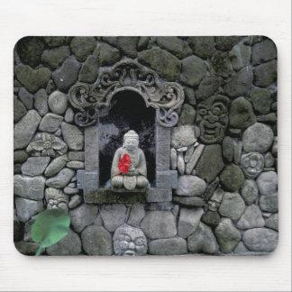 Asia, Indonesia, Bali. A shrine of Buddha Mouse Mat