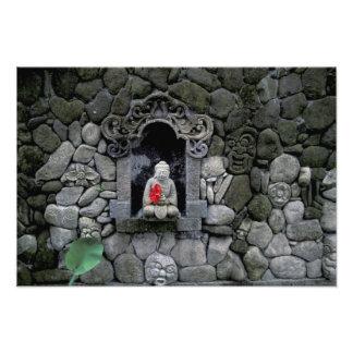 Asia, Indonesia, Bali. A shrine of Buddha Art Photo