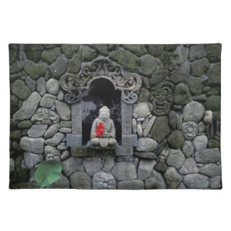Asia, Indonesia, Bali. A shrine of Buddha Placemat