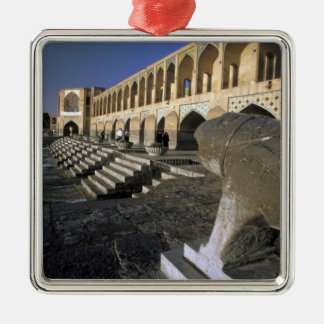 Asia, Iran, Isfahan. Pol-e Khaju Bridge. Christmas Ornament