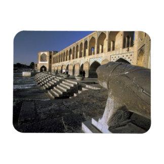 Asia, Iran, Isfahan. Pol-e Khaju Bridge. Magnet