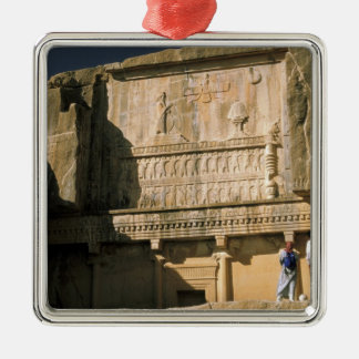 Asia, Iran, Persepolis.Tomb of Darius the Great. Christmas Ornament