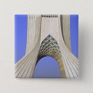 Asia, Iran, Tehran. Freedom Monument in Azadi 15 Cm Square Badge