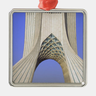 Asia, Iran, Tehran. Freedom Monument in Azadi Christmas Ornament
