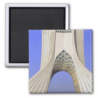 Asia, Iran, Tehran. Freedom Monument in Azadi Magnet