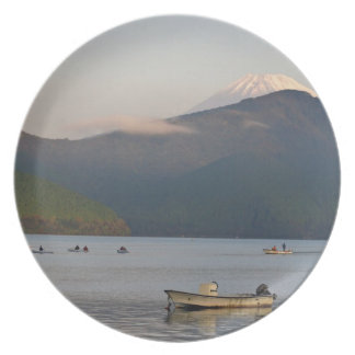 Asia, Japan, Hakone. Early morning views of Mt. Dinner Plates