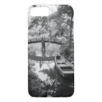 Asia, Japan, Hiroshima. Detail of Shukkei, en 2 iPhone 8/7 Case