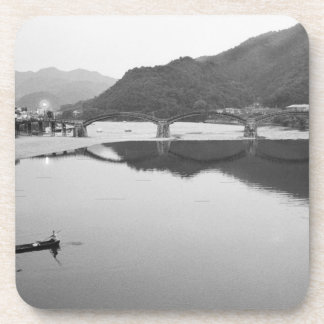 Asia, Japan, Iwakuni. Fishermen and historic Coaster