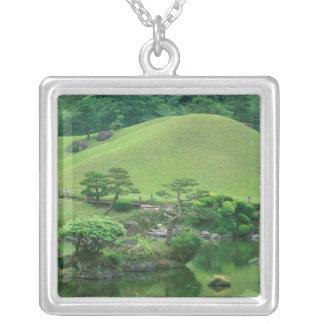 Asia, Japan, Kumamoto, Suizenji Koen Silver Plated Necklace