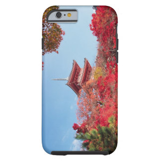 Asia, Japan, Kyoto. Autumn Colour Tough iPhone 6 Case