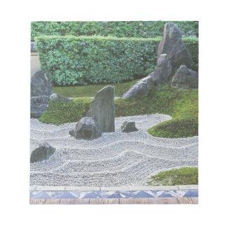 Asia, Japan, Kyoto, Daitokuji Temple, Zuiho-in Notepad