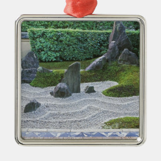 Asia, Japan, Kyoto, Daitokuji Temple, Zuiho-in Silver-Colored Square Decoration