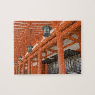 Asia, Japan, Kyoto, Heian Shrine Jigsaw Puzzle