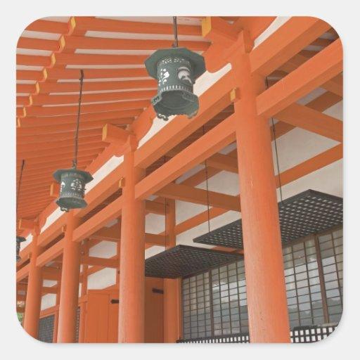 Asia, Japan, Kyoto, Heian Shrine Sticker