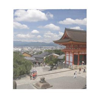 Asia, Japan, Kyoto, Kiyomizu Temple Notepad
