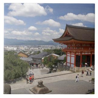 Asia, Japan, Kyoto, Kiyomizu Temple Tile