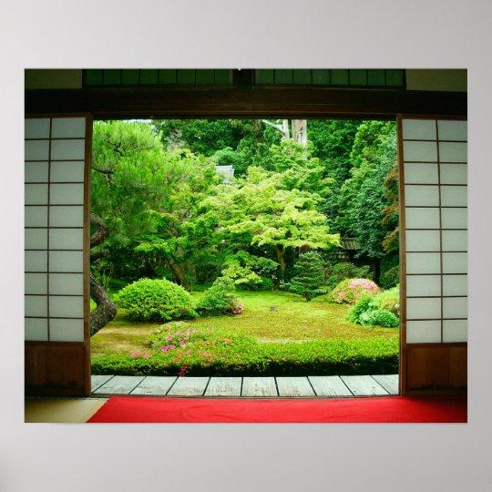 Asia, Japan, Kyoto. Zen Garden 2 Poster