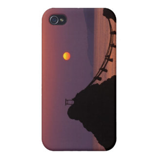 Asia, Japan, Mie, Futamigaura at Dawn iPhone 4 Case