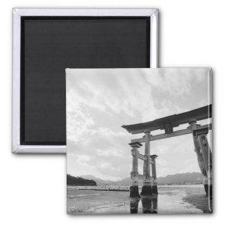 Asia, Japan, Myajima. Torri Gate 2 Magnet
