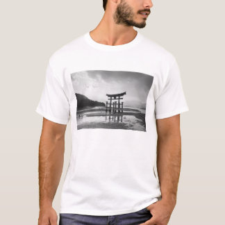 Asia, Japan, Myajima. Torri Gate T-Shirt