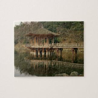 Asia, Japan, Nara, Temple in Nara Jigsaw Puzzle