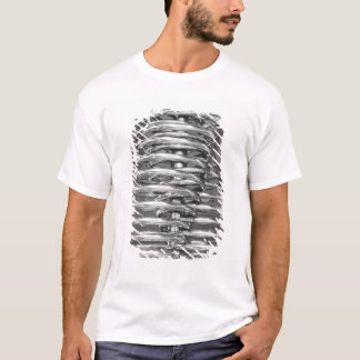 Asia, Japan, Tokyo. Coiled pipe, Tepco Energy 2 T-Shirt