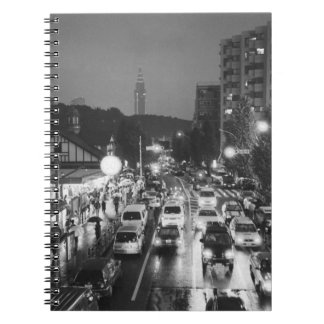 Asia, Japan, Tokyo. Evening, Harajuku Station, Spiral Note Books