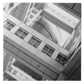 Asia, Japan, Tokyo. Fuji TV Building, Odaiba Tile
